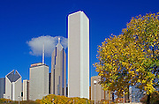 Image of the skyline of Chicago, Illinois, American Midwest by Randy Wells