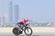 Foto LaPresse - Fabio Ferrari<br /> 22 Febbraio 2021 Abu Dhabi (Emirati Arabi Uniti)<br /> Sport Ciclismo<br /> UAE Tour 2021 -ABU DHABI SPORTS COUNCIL STAGE-<br /> Tappa 2 - Da Al Hudayriyat Island a Al Hudayriyat<br /> Island- ITT - 13 km.<br /> Nella foto:GUERREIRO Ruben(POR)(EF EDUCATION - NIPPO)<br /> <br /> Photo LaPresse - Fabio Ferrari<br /> February 22 2021 Abu Dhabi (United Arab Emirates) <br /> Sport Cycling<br /> UAE Tour 2021 -ABU DHABI SPORTS COUNCIL STAGE-<br /> Stage 2 - From Al Hudayriyat Island at Hudayriyat<br /> Island - ITT -8,07 miles<br /> In the pic: GUERREIRO Ruben(POR)(EF EDUCATION - NIPPO)