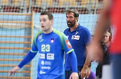Veselin Vujovic of Slovenia during friendly handball match between Slovenia and Srbija, on October 27th, 2019 in Športna dvorana Lukna, Maribor, Slovenia. Photo by Milos Vujinovic / Sportida