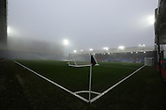Selhurst Park covered by fog during the Premier League match at Selhurst Park Stadium, London. Picture date December 17th, 2016 Pic David Klein/Sportimage