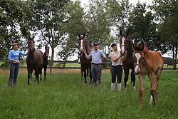Merries Louis Van Gestel<br /> Stal Gestelhof - Meerhout 2005<br /> Photo © Hippo Foto