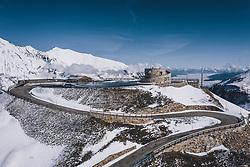 THEMENBILD - die Edelweissspitze mit der Aussichtsplattfrom in der Morgensonne. Die Hochalpenstrasse verbindet die beiden Bundeslaender Salzburg und Kaernten und ist als Erlebnisstrasse vorrangig von touristischer Bedeutung, aufgenommen am 27. Mai 2020 in Fusch a.d. Glstr., Österreich // the Edelweissspitze with the viewpoint in the morning sun. The High Alpine Road connects the two provinces of Salzburg and Carinthia and is as an adventure road priority of tourist interest, Fusch a.d. Glstr., Austria on 2020/05/27. EXPA Pictures © 2020, PhotoCredit: EXPA/ JFK