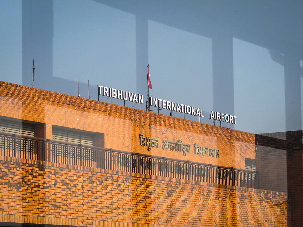 Tribhuvan International Airport, Kathmandu. The airport is named after Tribhuvan Bir Bikram Shah, the former King of Nepal