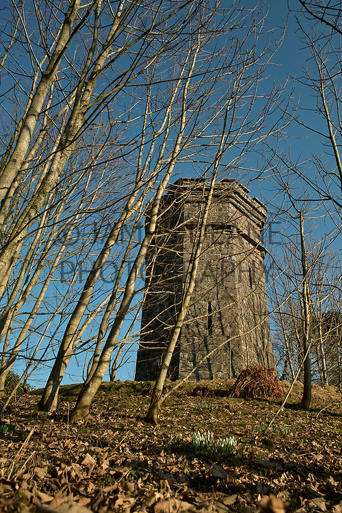 The East Tower at Bridgend, marking the approach to Islay House