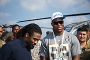 January 27 2016: Oakland Raiders Khalil Mack during the  Pro Bowl Draft at Wheeler Army Base on Oahu, HI. (Photo by Aric Becker/Icon Sportswire)