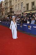 Tracy Shaw . TV Bafta Awards. 21 April 2002. © Copyright Photograph by Dafydd Jones 66 Stockwell Park Rd. London SW9 0DA Tel 020 7733 0108 www.dafjones.com