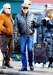 Actor Bruce Willis is shopping with his bodyguard in Soho, New York, NY on January 26, 2020.<br /> Photo by Dylan Travis/ABACAPRESS.COM
