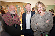 FRANCESCO CLEMENTE; HARRY BLAIN; BODIL BLAIN, Mandala for Crusoe, Exhibition of work by Francesco Clemente. Blain/Southern. Hanover Sq. London. 29 November 2012