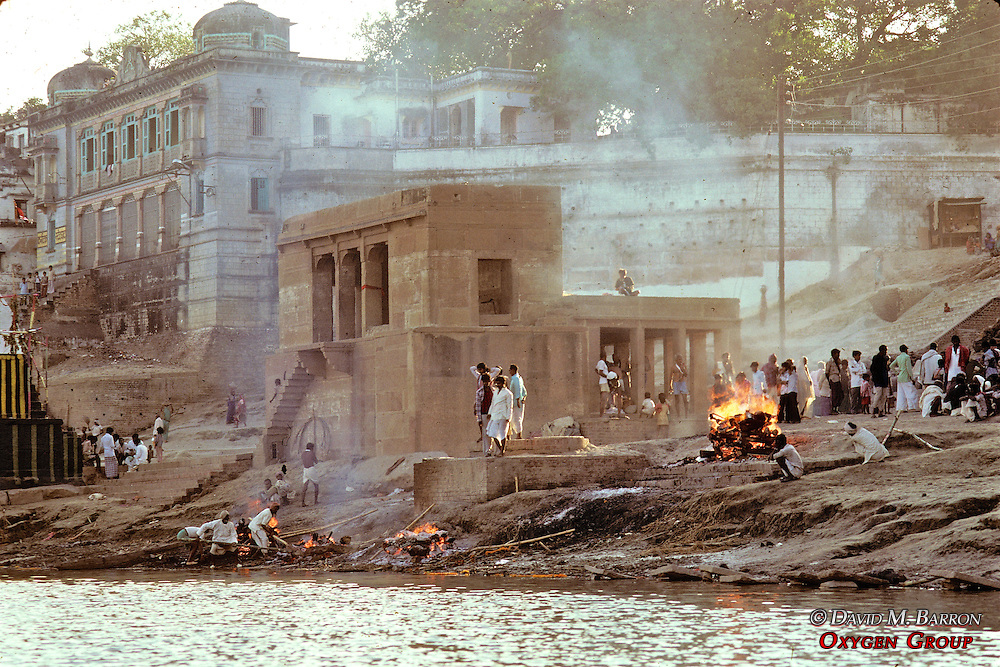 Cremations Along The Ganges River