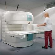 medical scanner machine at hospital