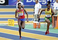 Friidrett<br /> Innendørs-VM 2010<br /> Doha<br /> 12.03.2010<br /> Foto: Hasse Sjögren, Digitalsport<br /> NORWAY ONLY<br /> <br /> Folake Akinyemi<br /> 60 meter