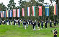 HILVERSUM - Prizewinning ceremony.    ELTK Golf 2020 The Dutch Golf Federation (NGF), The European Golf Federation (EGA) and the Hilversumsche Golf Club will organize Team European Championships for men.  COPYRIGHT KOEN SUYK