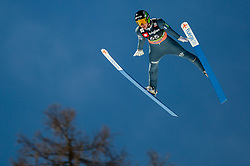 Timi Zajc (SLO) during the Qualification Round of the Ski Flying Hill Individual Competition at Day 1 of FIS Ski Jumping World Cup Final 2019, on March 21, 2019 in Planica, Slovenia. Photo by Masa Kraljic / Sportida