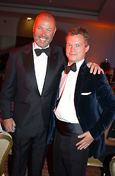 Left to right, SIMON OATES and SOREN JESSEN at the Game Conservancy Jubilee Ball in aid of the Game Conservancy Trust held at The Hurlingham Club, London SW6 on 26th May 2005<br /><br />NON EXCLUSIVE - WORLD RIGHTS