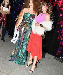 Cindy Gerber, Randy Gerber, and Amal Clooney attend the Annual Casamigos Halloween Party in Weho. 27 Oct 2017 Pictured: Cindy_Crawford_Randy_Crawford_Amal_Clooney. Photo credit: BLAK-OPS / MEGA TheMegaAgency.com +1 888 505 6342