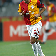 Galatasaray's Sercan YILDIRIM during their Turkish soccer superleague match Istanbul BBSpor between Galatasaray at the Ataturk Olympic stadium in Istanbul Turkey on Sunday 11 September 2011. Photo by TURKPIX