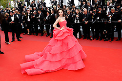 May 15, 2019 - Cannes, Alpes-Maritimes, Frankreich - Sririta Jensen attending the 'Les Misérables' premiere during the 72nd Cannes Film Festival at the Palais des Festivals on May 15,2019 in Cannes, France (Credit Image: © Future-Image via ZUMA Press)