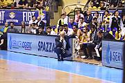 Francesco Vitucci<br /> Fiat Torino - Mia Cantu<br /> Lega Basket Serie A 2016/2017<br /> Torino 26/03/2017<br /> Foto Ciamillo-Castoria