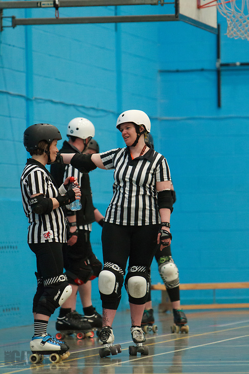 Tee Town take on Engine of Fury at the MRD Sevens Tournament, Salford University Sports Centre, 2018-03-04