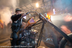 Up in Smoke. Sturgis, SD. 2013<br /> <br /> Limited Edition Print from an edition of 15. Photo ©2013 Michael Lichter.