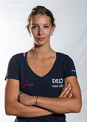 02-07-2018 NED: EC Beach teams Netherlands, The Hague<br /> Joy Stubbe NED