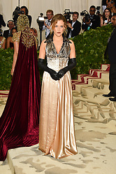 Riley Keough attending the Costume Institute Benefit at The Metropolitan Museum of Art celebrating the opening of Heavenly Bodies: Fashion and the Catholic Imagination. The Metropolitan Museum of Art, New York City on May 7, 2018. Photo by Lionel Hahn/ABACAPRESS.COM