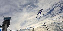 02.01.2016, Bergisel Schanze, Innsbruck, AUT, FIS Weltcup Ski Sprung, Vierschanzentournee, Qualifikation, im Bild Markus Schiffner (AUT) // Markus Schiffner of Austria during his Qualification Jump for the Four Hills Tournament of FIS Ski Jumping World Cup at the Bergisel Schanze, Innsbruck, Austria on 2016/01/02. EXPA Pictures © 2016, PhotoCredit: EXPA/ JFK