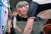 DESCRIZIONE : Final Eight Coppa Italia 2015 Desio Quarti di Finale Dinamo Banco di Sardegna Sassari - Vanoli Cremona<br /> GIOCATORE : Luigi Lamonica arbitro<br /> CATEGORIA : arbitro ritratto<br /> SQUADRA : arbitro<br /> EVENTO : Final Eight Coppa Italia 2015 Desio<br /> GARA : Dinamo Banco di Sardegna Sassari - Vanoli Cremona<br /> DATA : 20/02/2015<br /> SPORT : Pallacanestro <br /> AUTORE : Agenzia Ciamillo-Castoria/Max.Ceretti
