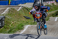 #126 (SHRIEVER Bethany) GBR during round 4 of the 2017 UCI BMX  Supercross World Cup in Zolder, Belgium.