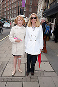 ANDREA ROSS; ROBIN ROSS, The Pimlico Road Summer party. London SW1. 9 June 2009