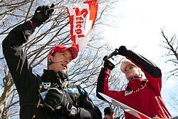 20.03.2011, Planica, Kranjska Gora, SLO, FIS World Cup Finale, Ski Nordisch, Skiflug Einzelbewerb, im Bild ÖSV Cheftrainer Alexander Pointner am Trainerturm // OeSV Headcoach Alexander Pointner during individual competition of the Ski Jumping World Cup finals in Planica, Slovenia, 20/3/2011. EXPA Pictures © 2011, PhotoCredit: EXPA/ J. Groder