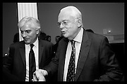 SEBASTIAN GRIGGS; MARTYN LEWIS, Party to celbrate the publication of ' Walking on Sunshine' 52 Small steps to Happiness' by Rachel Kelly. RSA. London. 9 November 2015