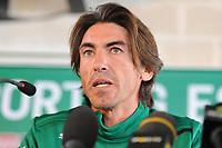 20120214: LISBON, PORTUGAL - Former football player Ricardo Sa Pinto presented as the new coach of Sporting Clube de Portugal Football Team<br /> PHOTO: CITYFILES