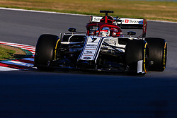 February 18, 2019 - Montmelo, BARCELONA, Spain - Kimi Raikkonen from Finland with 07 Alfa Romeo Racing in action during the Formula 1 2019 Pre-Season Tests at Circuit de Barcelona - Catalunya in Montmelo, Spain on February 18. (Credit Image: © AFP7 via ZUMA Wire)