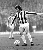 Alan Hudson - Stoke City. Stoke City v Chelsea 1973/74. Credit: Colorsport.
