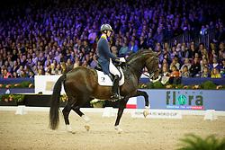 Van Silfhout Diederick (NED) - Arlando <br /> Reem Acra FEI World Cup Dressage<br /> Jumping Amsterdam 2016<br /> © Hippo Foto - Dirk Caremans<br /> 30/01/16