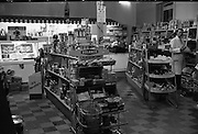 Feeneys of Dundrum, Dublin..1961..08.12.1961..12.08.1961..8th December 1961..Feeneys, a modern grocery store at Dundrum, Dublin,  complete with white-coated shop assistants and all the essentials, from Brillo Pads to Milk of Magnesia..Image shows the shop interior with its vast array of goods for sale.
