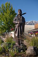 Bronze sculpture of Chief Joseph, Joseph Oregon