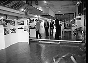 """20/06/1979.06/20/1979.20th June 1979.An exhibition of photographs presented by the Norwegian Foreign Ministry as a gift to the Department of Architecture, Bolton Street, Dublin entitled """"New Architecture from Norway"""" at the Kilkenny Design Shop, Nassau Street."""