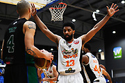 Taylor Hawks Dion Prewster looking to block during a match against the Auckland Super City Rangers.<br /> Super City Rangers v Taylor Hawks, NBL NZ, Trusts Arena, Auckland, New Zealand. 7 July 2018. © Copyright Image: Marc Shannon / www.photosport.nz.