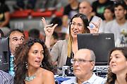 DESCRIZIONE : Campionato 2014/15 Dinamo Banco di Sardegna Sassari - Olimpia EA7 Emporio Armani Milano Playoff Semifinale Gara6<br /> GIOCATORE : Alice Pedrazzi<br /> CATEGORIA : Before Pregame Ritratto<br /> SQUADRA : RAI TV<br /> EVENTO : LegaBasket Serie A Beko 2014/2015 Playoff Semifinale Gara6<br /> GARA : Dinamo Banco di Sardegna Sassari - Olimpia EA7 Emporio Armani Milano Gara6<br /> DATA : 08/06/2015<br /> SPORT : Pallacanestro <br /> AUTORE : Agenzia Ciamillo-Castoria/L.Canu