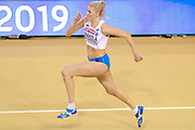*** during the European Athletics Indoor Championships at Emirates Arena, Glasgow, United Kingdom on 3 March 2019.