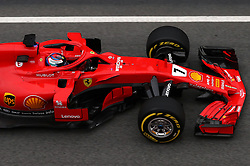 File photo dated 26-02-2018 of Ferrari's Kimi Raikkonen. RESS ASSOCIATION Photo. Issue date: Wednesday March 14, 2018. Vettel begins the first of his new three-year deal with Ferrari, while 38-year-old Raikkonen partners the German again. See PA story AUTO Formula One Driver Guide. Photo credit should read Tim Goode/PA Wire.