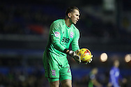 Birmingham City goalkeeper Tomasz Kuszczak (29) during the EFL Sky Bet Championship match between Birmingham City and Brighton and Hove Albion at St Andrews, Birmingham, England on 17 December 2016.