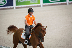Gerco Schroder, (NED), Glocks London NOP - Jumping Official Training Session - Alltech FEI World Equestrian Games™ 2014 - Normandy, France.<br /> © Hippo Foto Team - Dirk Caremans<br /> 01/09/14