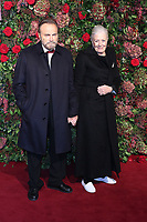 Franco Nero, Vanessa Redgrave, 64th Evening Standard Theatre Awards, Theatre Royal Drury Lane, London UK, 18 November 2018, Photo by Richard Goldschmidt