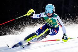Meta Hrovat of Slovenia during the Ladies' Slalom at 56th Golden Fox event at Audi FIS Ski World Cup 2019/20, on February 16, 2020 in Podkoren, Kranjska Gora, Slovenia. Photo by Morgan Kristan / Sportida