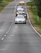 2007 Porsche 997 GT3 (Carrera White) .2008 Aston Martin DB9 S-Pack (Mariana Blue) .2005 Ford GT (Red / White) .2008 Mercedes Benz AMG CLK 63 Black Series (Iridium Silver) .2005 Lamborghini Gallardo (Giallo Midas) .Corporate Drive Day with Octane Events & The Supercar Club.Mornington Pennisula, Victoria .6th-7th of August 2009 .(C) Joel Strickland Photographics