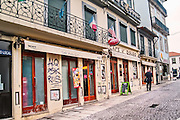 Oporto, December 2012. Famous Café Piolho D'Ouro, one of best places in Oporto to eat a francesinha, traditional dish