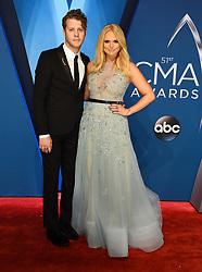 Reba McEntire at the 51st CMA Awards held at the Bridgestone Arena on November 8, 2017 in Nashville, TN. ©Tammie Arroyo/AFF-USA.com. 08 Nov 2017 Pictured: Miranda Lambert and Anderson East. Photo credit: MEGA TheMegaAgency.com +1 888 505 6342